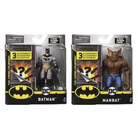 SPIN MASTER 斯平玛斯特 MAN-BAT和蝙蝠侠 手办
