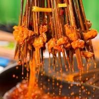 约串串吗?上海 钢管厂五区小郡肝串串香火锅 3-4人套餐