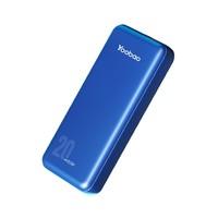 21日0点:Yoobao 羽博 充电宝 PD22.5w 快充20000毫安