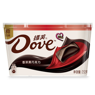 Dove 德芙 香浓黑巧克力