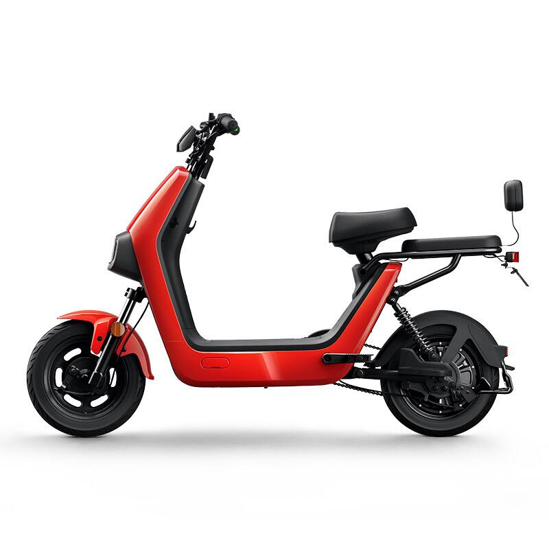 小牛电动 TDT10Z 电动车 48v12ah锂电池 红色