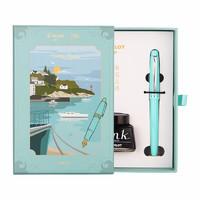 PLUS会员:PILOT 百乐 FP-78G 钢笔 合金笔尖 嫩绿 F尖 意式风情礼盒系列