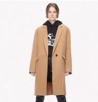 MO&Co. 摩安珂 MA184OVC113C17 女士毛呢大衣