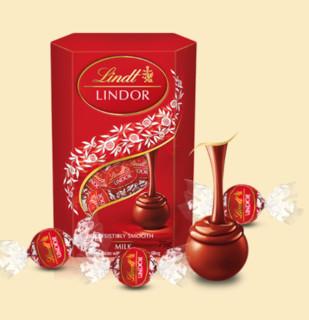Lindt 瑞士莲 LINDOR软心 牛奶巧克力