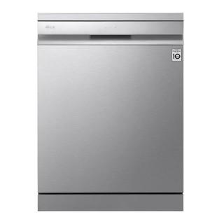 LG 乐金 洗碗机 大容量 除菌 韩国原装进口 14套独立式 嵌入式 100度蒸汽除菌 自动开门 臻炫银  洗碗机  DFB325HS