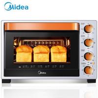 历史低价:Midea 美的 T3-L324D 32升 电烤箱 +凑单品