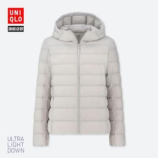 UNIQLO 优衣库 419777 女士高级轻型羽绒连帽外套