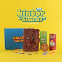 kinbor DT56031 创意文具手账本大礼包 吃货礼盒套装 *2件