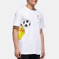 adidas 阿迪达斯 M PKMN PIKA T GD5854 男装夏季圆领运动短袖T恤