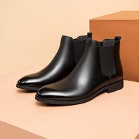 AOKANG 奥康 103911018 男款切尔西靴短靴