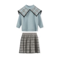 MONTAGUT 梦特娇  女童毛衣裙子两件套
