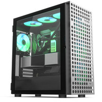 aigo爱国者 YOGO M4 PRO钛灰色 游戏鞋盒电脑机箱