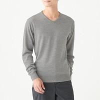 MUJI 无印良品 M9AA022 男士羊毛衫