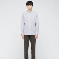 UNIQLO 优衣库 436425 男装 优质长绒棉条纹衬衫(长袖)