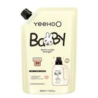 京东PLUS会员: YEEHOO 英氏 婴幼儿洗衣液 500ml +凑单品