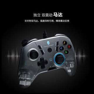 雷神(ThundeRobot)电竞游戏方向盘手柄摇杆吃鸡外设神器电脑PC多平台适用 畅玩赛博朋克 G30战斧游戏手柄