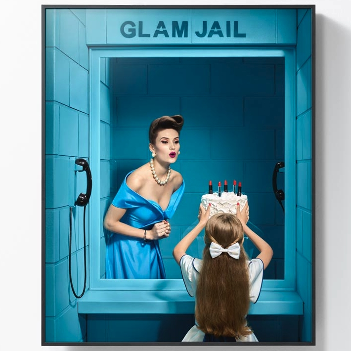 艺术品 : 巴西艺术家 波尔·克鲁兹 摄影作品《华丽监狱 4号》