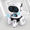 贝利雅 电动跳舞六爪鱼机器人 白色干电池版