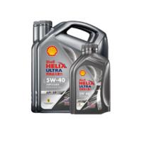 Shell 殼牌 超凡喜力系列 都市光影版組合裝 車用潤滑油 5W-40 SP 4L*2+1L*2