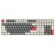 PLUS会员:iKBC C210 有线机械键盘 红轴 108键 时光灰 349元包邮(需用券)