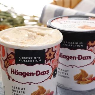 Häagen·Dazs 哈根达斯 冰淇淋组合装 2口味 460ml*4桶(草莓口味460ml*2桶+花生酱口味460ml*2桶)