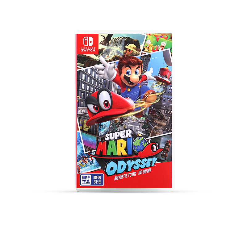 Nintendo 任天堂 NS游戏卡带 国行《超级马力欧 奥德赛》