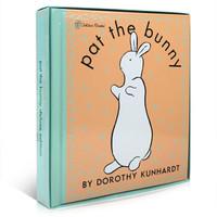 拍拍小兔子 Pat the Bunny 进口原版  创意书 触摸书