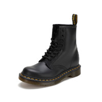 Dr.Martens 马汀博士 11821006BLK 情侣款硬皮短筒马丁靴