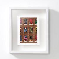 艺术品:英国艺术家 David Biskup 大卫·比斯库普《隔离在家》Lockdown