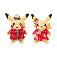 玩模总动员:Pokemon 宝可梦 新春限定皮卡丘毛绒公仔