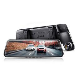 360 M320 全面屏流媒体后视镜 行车记录仪 后拉摄像头 32G卡