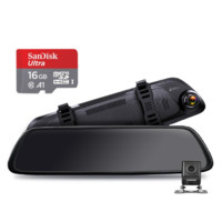 360 M系列 M301 行车记录仪 双镜头 16G卡