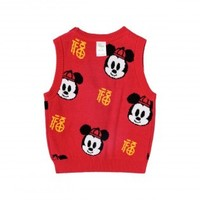 Disney baby 迪士尼宝宝 婴儿马甲