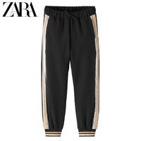 限尺码:ZARA  DELUXE 女童慢跑裤