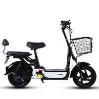 TAENT 踏浪 小爱米 电动车 TDT123Z 48V12AH铅酸电池 皎月白可提电池版