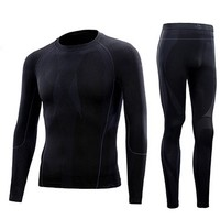 PELLIOT 伯希和 PE22631804 中性保暖内衣裤套装