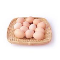 堆草堆 天然谷物饲土鸡蛋 16枚装