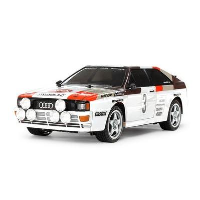 TAMIYA 田宫 1:10奥迪Audi Quattro Rally A2 (TT-02)入门平跑遥控车