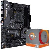 百亿补贴:AMD Ryzen 锐龙 R9-3900XT 盒装CPU处理器 + ASUS 华硕 B550M Plus WiFi 主板 套装