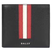 巴利(BALLY) 男士黑色牛皮钱包 TRASAI.LT/210 6224893 BLACK 1