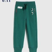 Gap 盖璞 儿童抓绒保暖运动裤