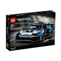 女神超惠买、百亿补贴:LEGO 乐高 Technic科技系列 42123 迈凯伦塞纳GTR赛车