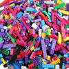 倍奇 儿童积木玩具创意DIY小颗粒拼装玩具拼插3-6周岁男女孩玩具颗粒 1000颗粒袋装+赠品包+底板+送700颗立体积木