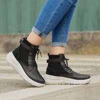SKECHERS 斯凯奇 15546-CSNT 女士加绒休闲运动鞋