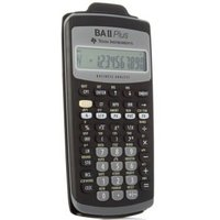 Texas Instruments 德州仪器 BA II plus 金融计算器