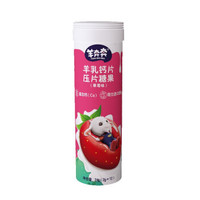 佳贝艾特 Kabrita 羊奔奔奶片压片糖果 儿童休闲零食 草莓味羊奶片24g单支装
