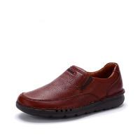 clarks 其乐 Unnature Easy 261279528 舒适套脚男士皮鞋