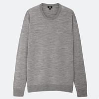 UNIQLO 优衣库 419190 男士圆领羊毛针织衫