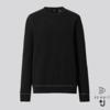 UNIQLO 优衣库 +J系列 435924 3D羊绒圆领针织衫