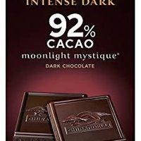 Ghirardelli 巧克力*深色棒,Twilight Delight 72% 可可可,3.5 盎司块 Ghirardelli Moonlight Mystique 92% Intense Dark Bar, 3.17 Ounce (Pack of 12) 12份